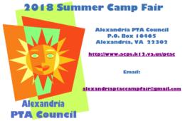 2018 PTAC Summer Camp Fair Directory