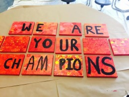 We are your champions tiles