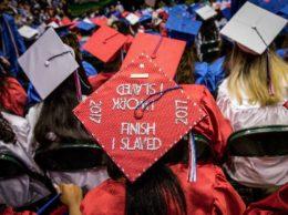 2017 TC graduation caps