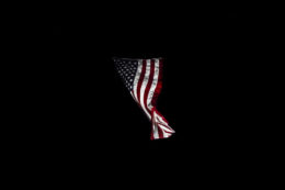 Photgrah of the America flag byDaniel Rivas – Senior
