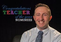 Stephen Neeley, Teacher of the Year Nominee