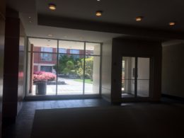 West End school lobby view