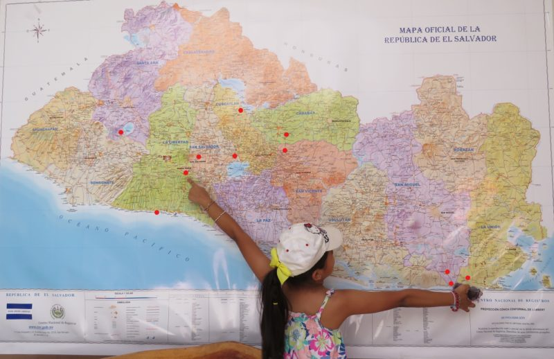 T.C. Teachers Visit El Salvador to Learn More About the ... on map of san pedro de macoris, map of san cristobal de las casas, map of asunción, map of honduras, map of pereira, map of central america, map of ilhabela, map of campinas, map of south of the border, map of ciudad del este, map of isla margarita, map of regions of brazil, map of san pedro de atacama, map of culiacan, map of san pedro la laguna, map of sunset boulevard, map of guatemala, map of bissau, map of la serena, map of antarctic sound,