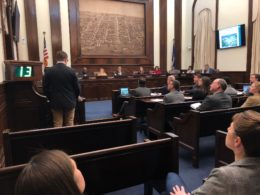 City Council hearing to apporve the swing space at Patrick Henry
