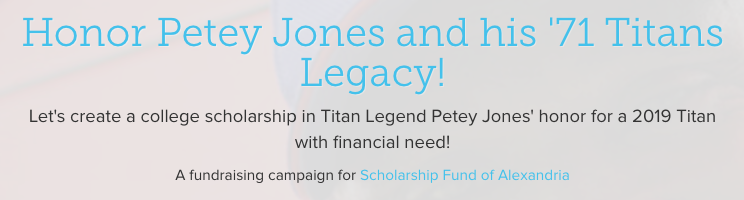 Petey Jones Scholarship Fund