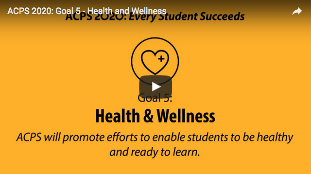 Screen Shot from Health and Wellness Video