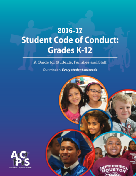 Student Code of Conduct Cover