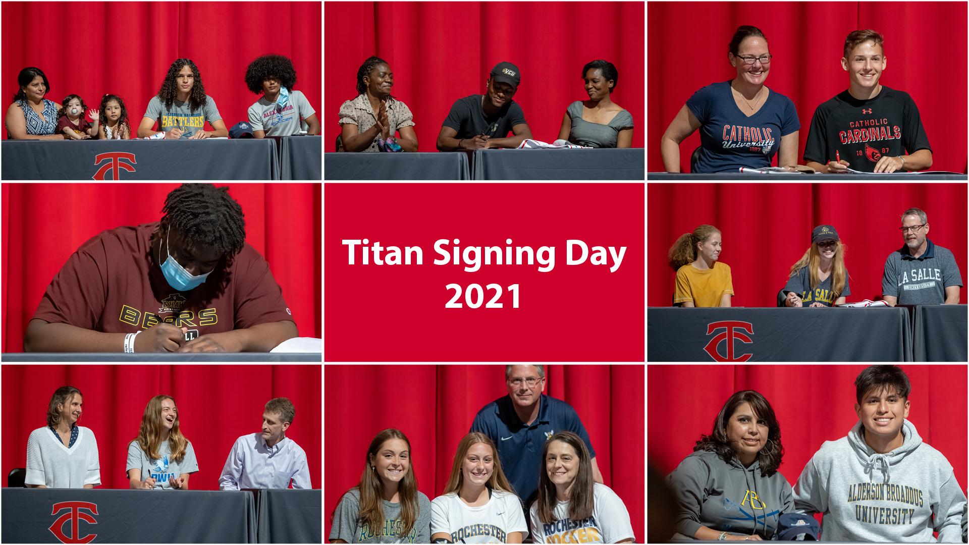 Titan Signing Day 2021