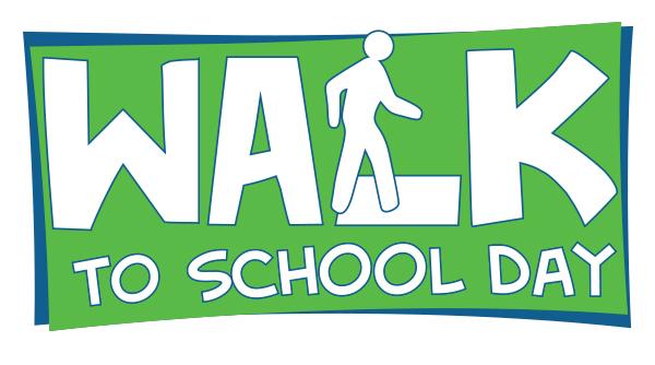 Walk to School Day Logo
