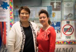 Yolanda Carrasco and Mildred Rivera