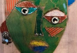"art work ""Green Goddess"" by 4th grader Nini Carranza Varela"