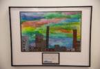 student artwork -cityscape