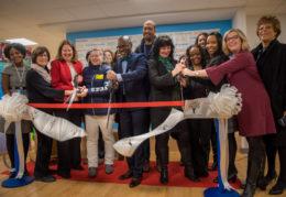 Superintendent cuts ribbon at ECC opening