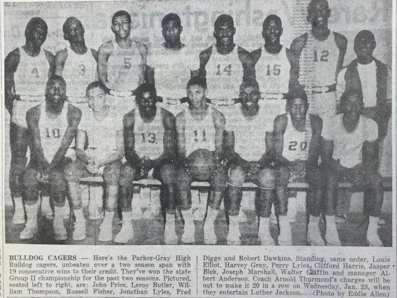 1957 Basketball Team