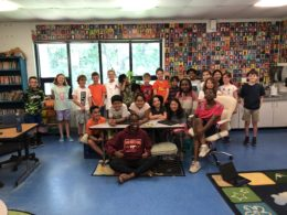 intern with douglas macarthur students