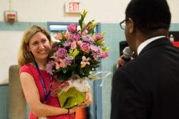 Laura Koss and Superintendent Crawley
