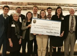 Dr. Berlin with Henry Knox recipients