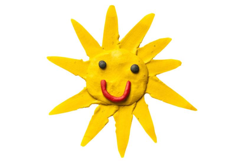 PlayDough sunshine