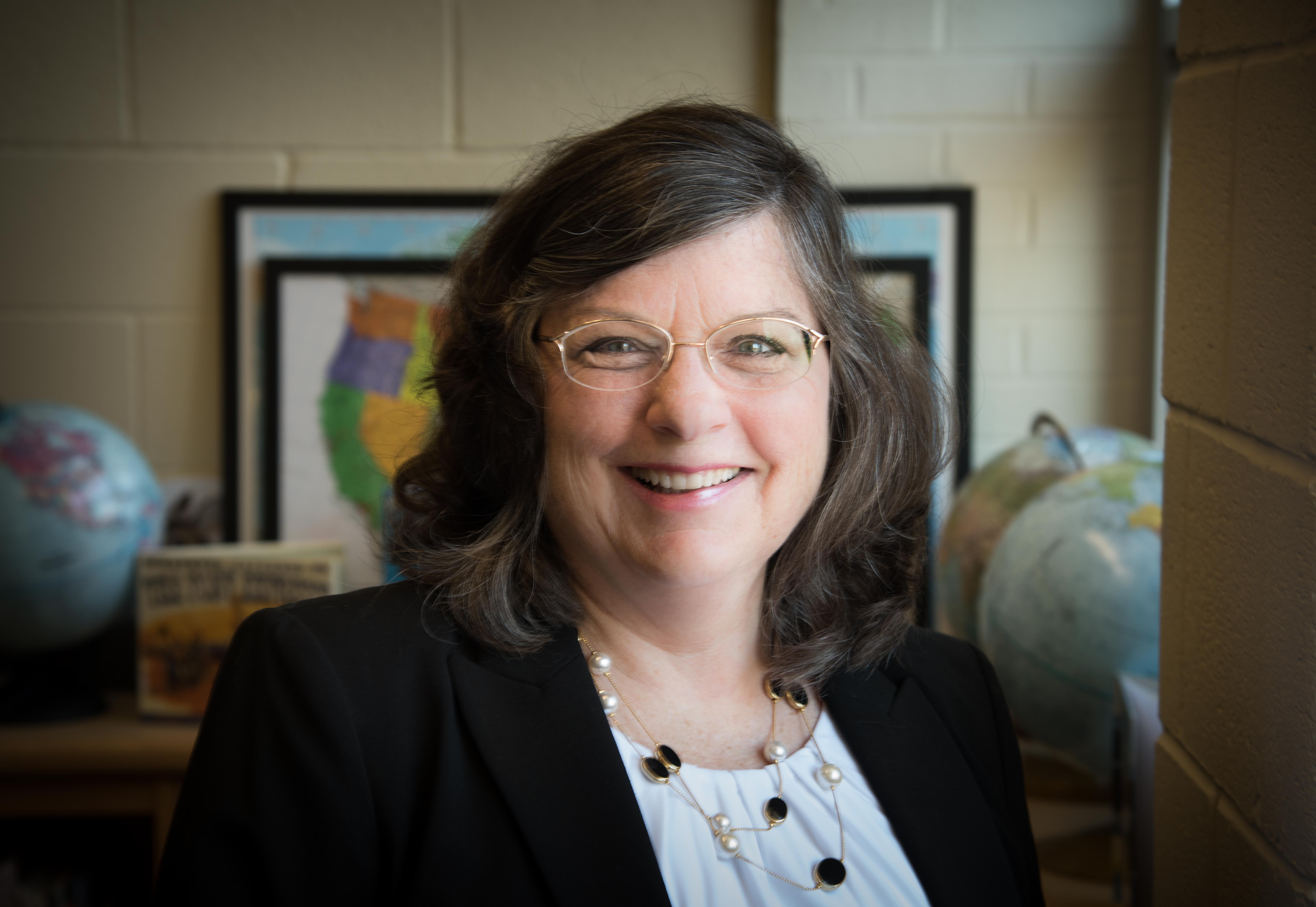 Principal Patricia Zissios.
