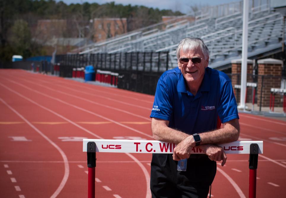 Michael Hughes, T.C. Williams Head Track and Field Coach