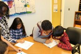 Hammond students in classroom