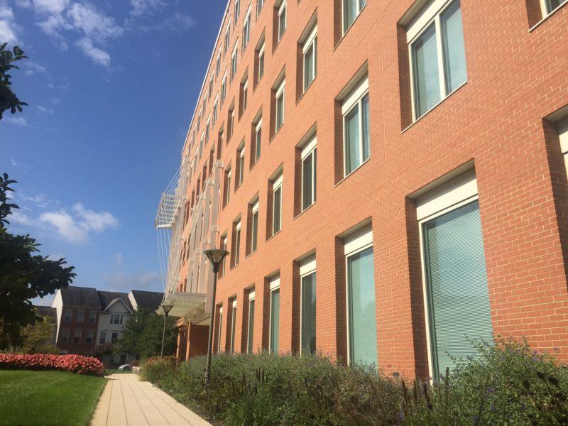 West End school exterior view