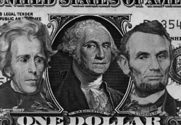 Presidents Jackson, Washington and Lincoln