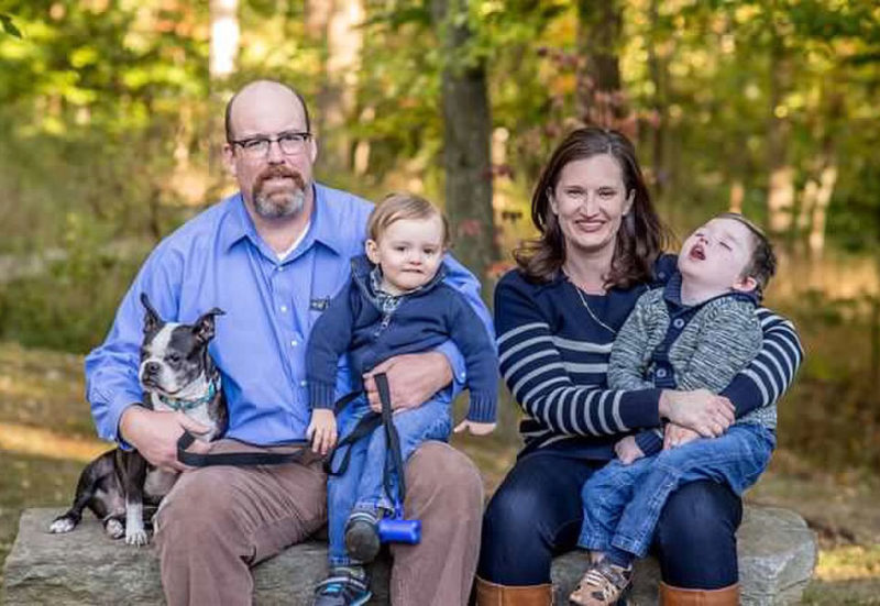 Daniel MacDonald and family