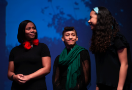 student performers at kennedy center