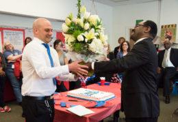 Peter Balas and Superintendent Crawley