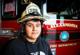 Ronal Velasquez at Alexandria Fire Department, Station 209