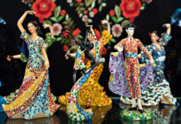 Souvenir shop. Spanish traditional crafts
