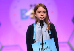 olivia coleman at the national spelling bee