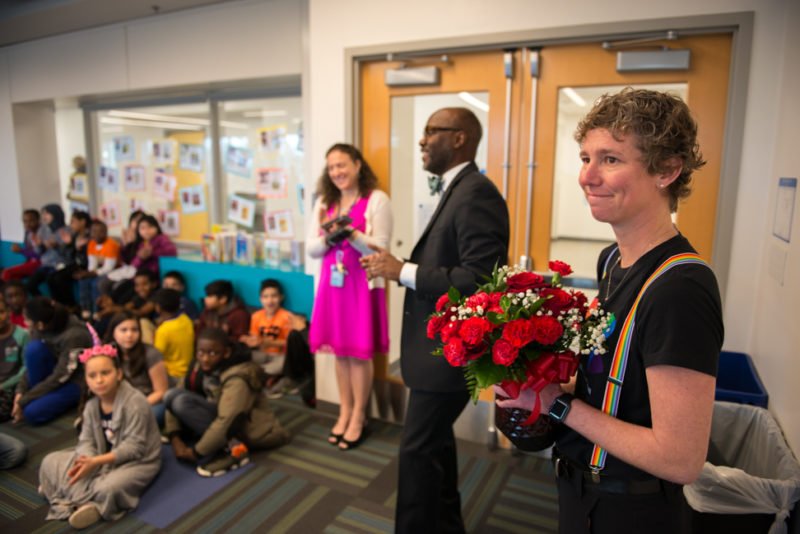 April Rodgers - 2018 Teacher of the Year