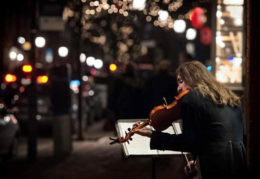 violinist king street